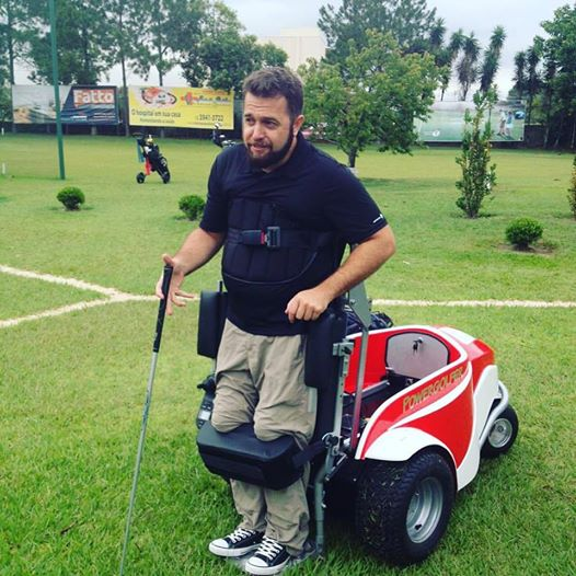 Brazil's first Powergolfer!