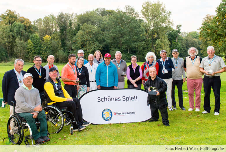 Great golf at the 4th HVB International Bavarian Championships of Golfers with Disabilities